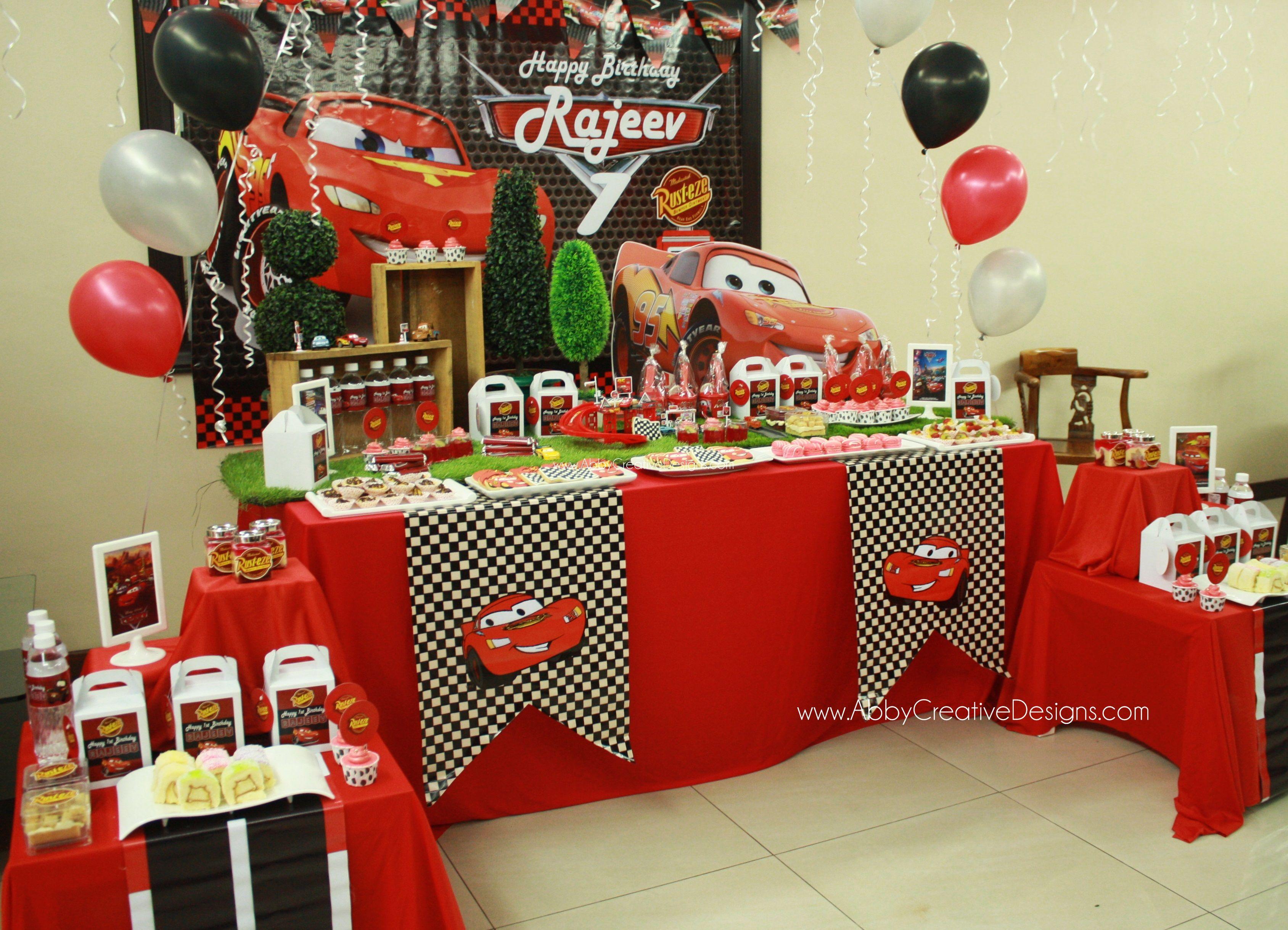 Wonderful Cars Themed Birthday Party Decorating Ideas Part - 14: Diy Cars Birthday Party - Buscar Con Google