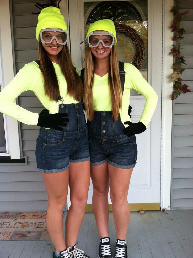 Last Minute DIY Halloween Costumes for Teens Minions | Halloween ...