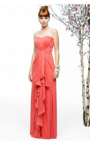 Lela Rose LR203 Cinched Ruffle Firecracker New Evening Dresses Sale