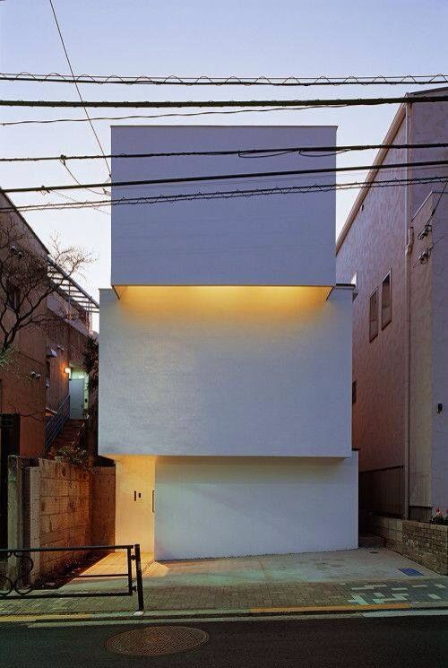 OBI House Is A Minimalist House Located In Tokyo, Japan, Designed By  Tetsushi Tominaga. The Three Story Home Is Constructed Of Reinforced  Concrete And Wood.