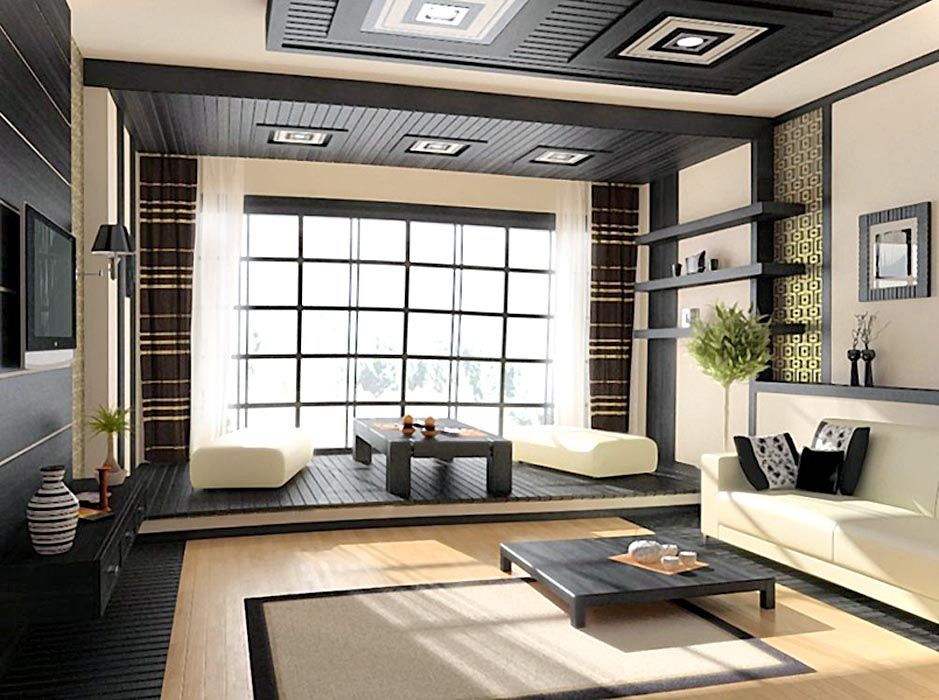 cool 20+ Japanese Home Decor Living Room Ideas To Try! , Only one ...