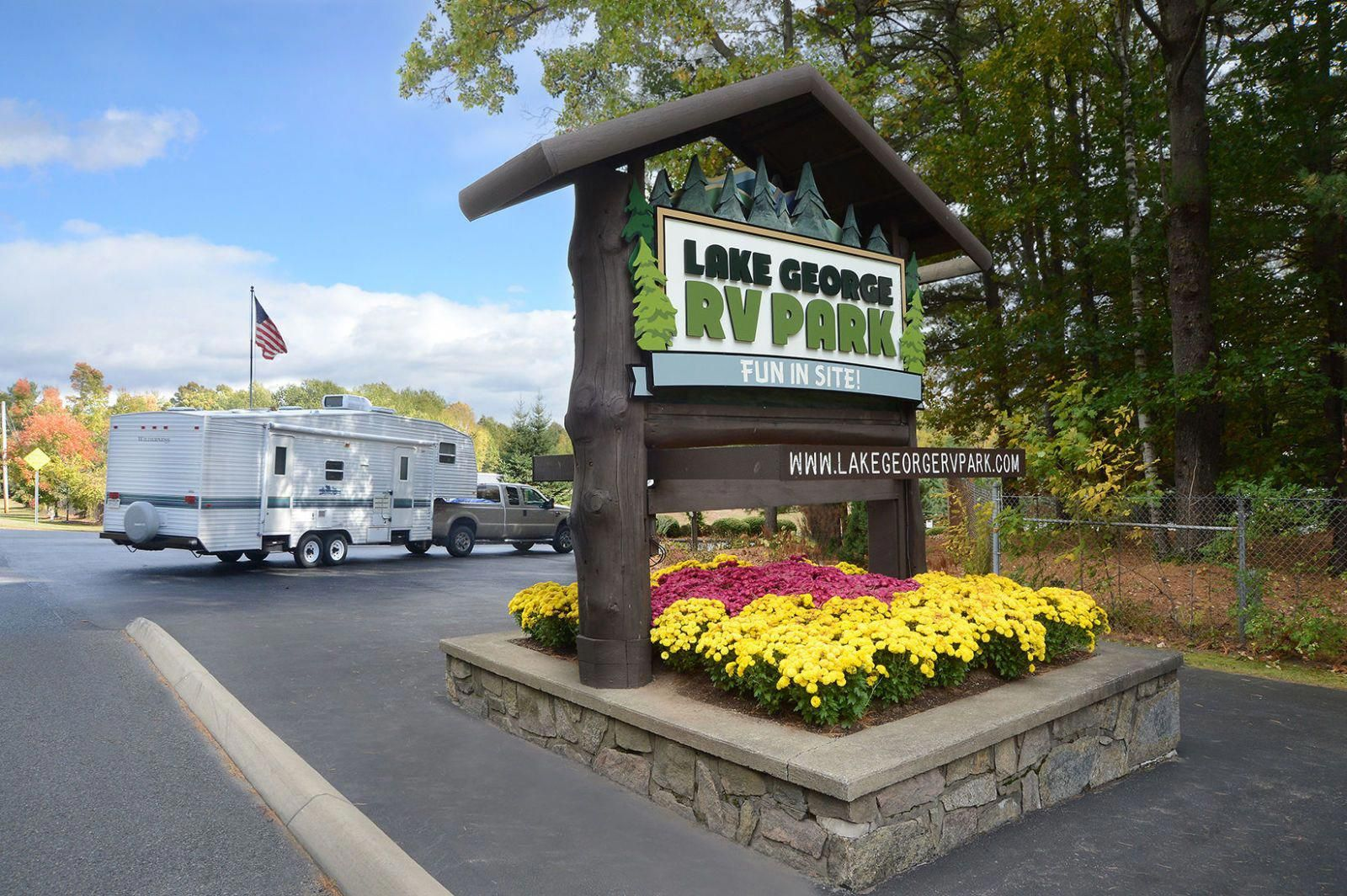11 Must Visit Rv Friendly Campgrounds Across America Lake George Rv Park Rv Parks Rv Campgrounds
