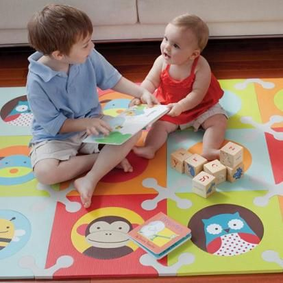 Alfombra para bebés y niños Playspot de Skip Hop | DecoPeques