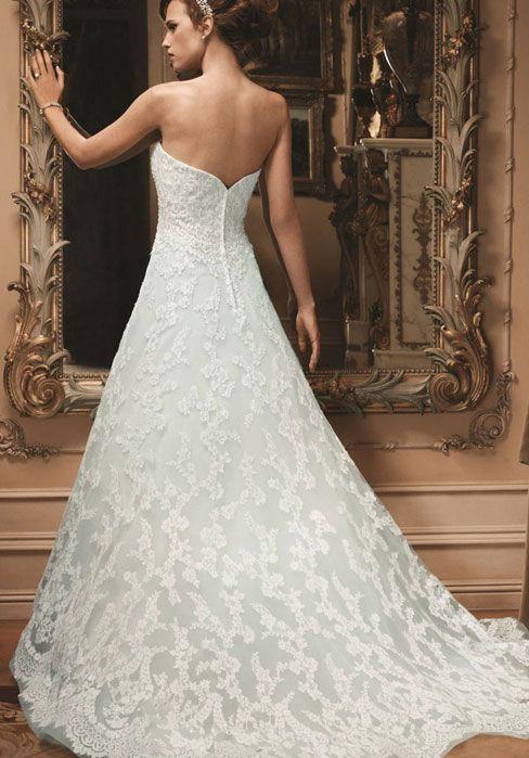 Lace Sleeveless Chapel Train Natural Waist Zipper Wedding Dress