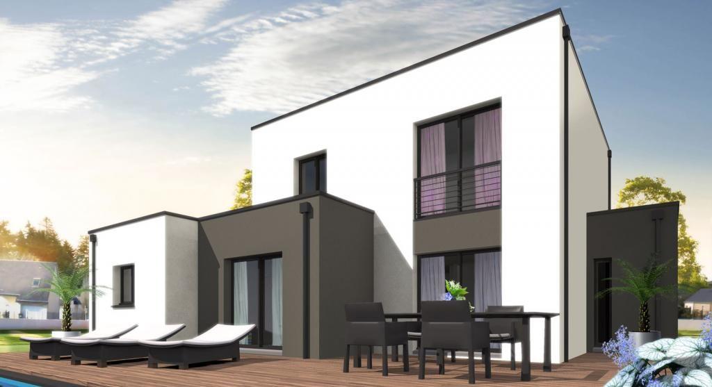 Construction maison Futura TAYLOR - Habitat Plus idée 2ème Maison - Plan Architecture Maison 100m2