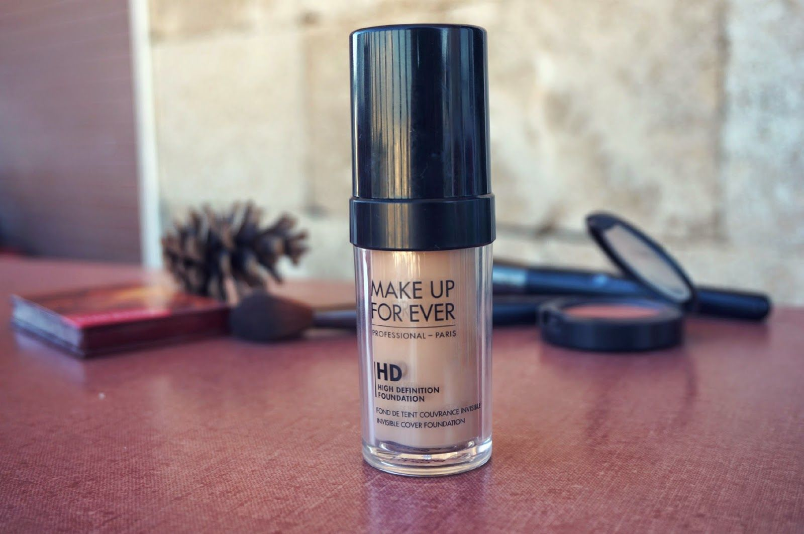 REVIEW Makeup Forever HD Foundation Makeup forever hd