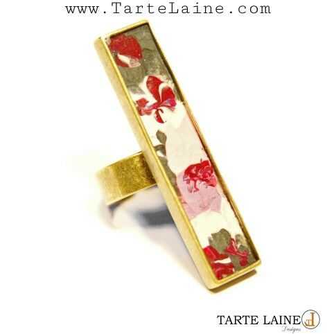 New to #TarteLaineDesigns ' #fall2014 collection. Share with  your friends  and get ready for holiday gift giving.  #handpaintedjewelry  #jewelryart  #jewelry  #jewelryartist # etsy www.TarteLaine.com  www.etsy.com/shop/tartelaine