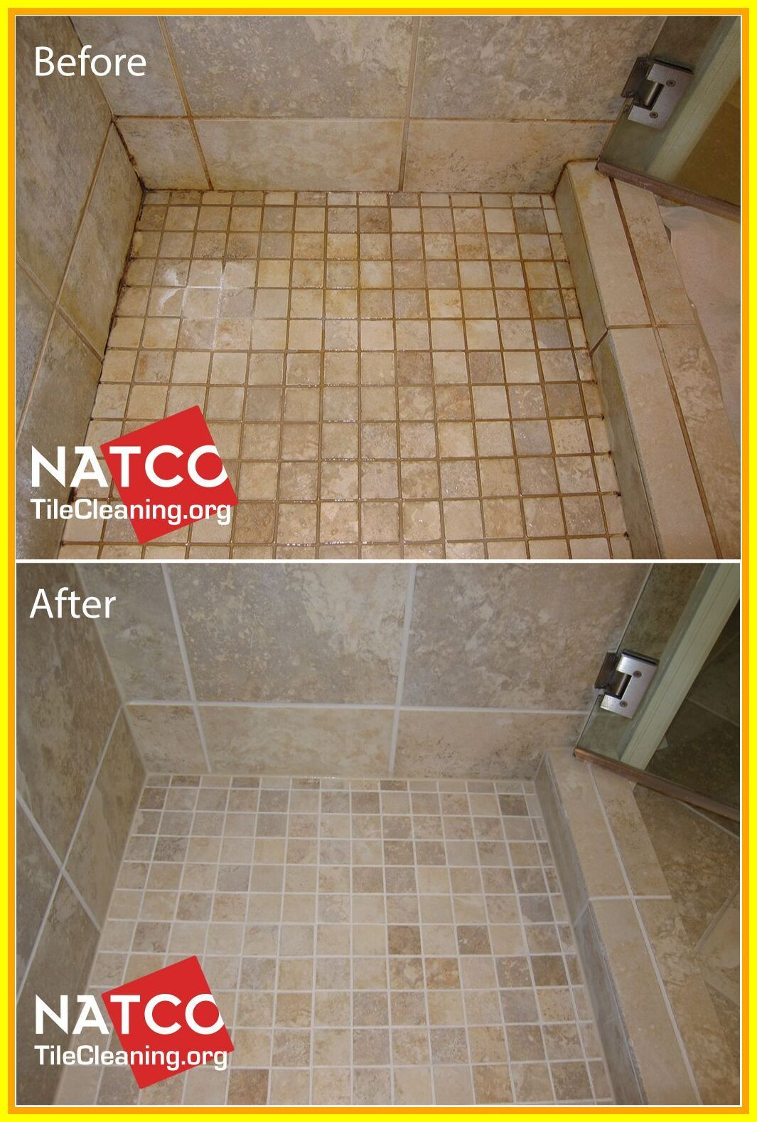 How I Transformed My Bathroom Floors For Under 12 Clean Bathroom Floor Cleaning Bathroom Tiles Bathroom Cleaning
