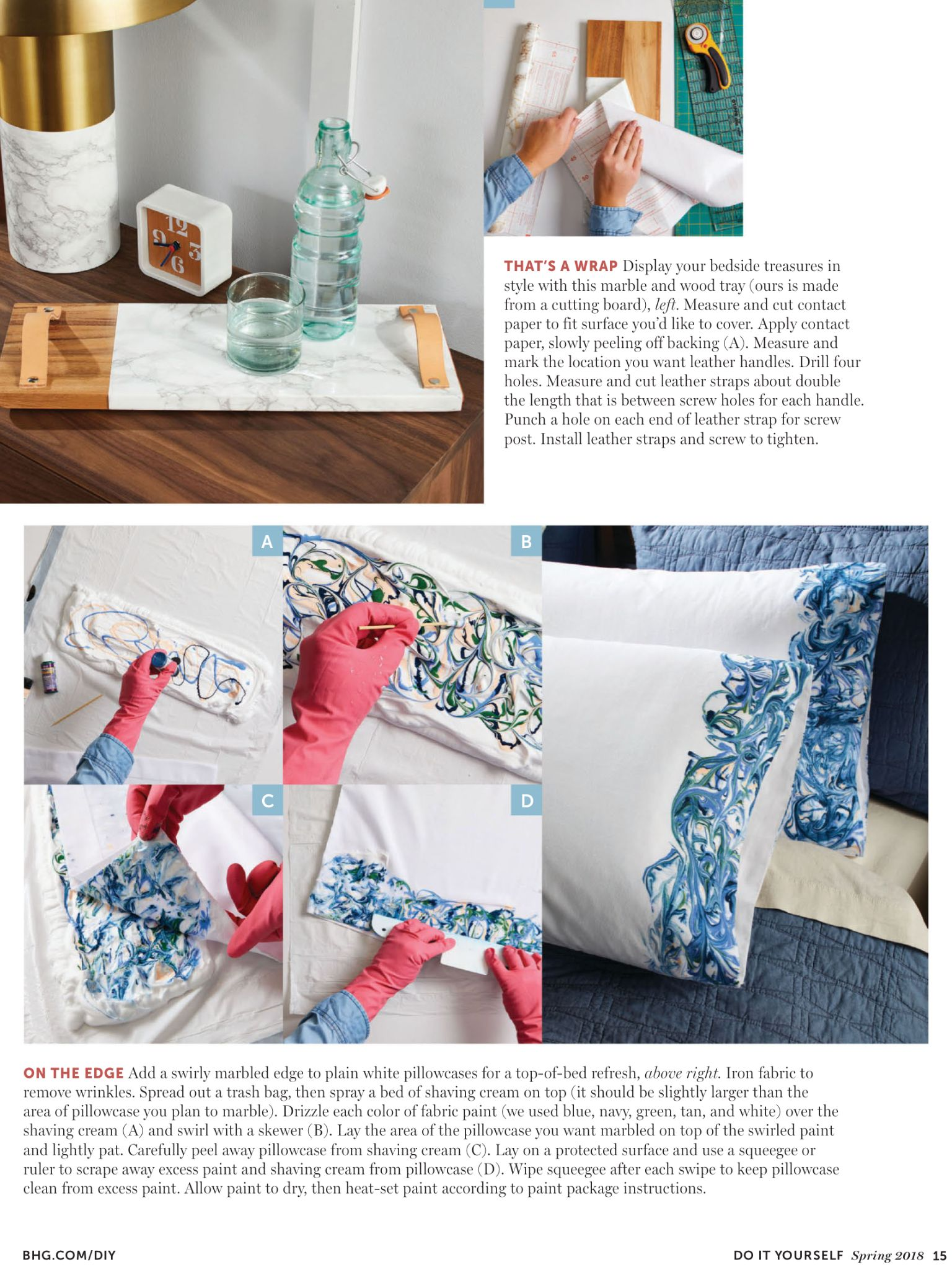 Marbling from do it yourself magazine spring 2018 read it on the marbling from do it yourself magazine spring 2018 read it solutioingenieria Gallery