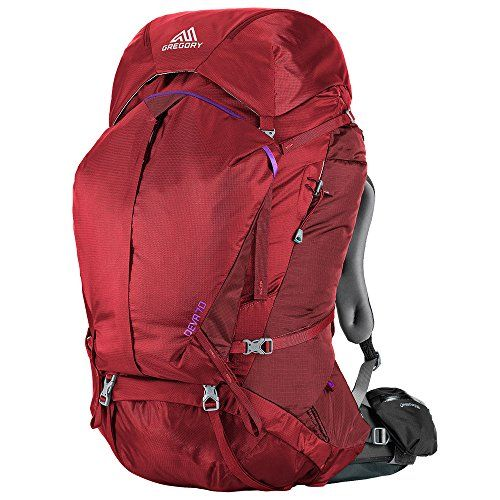 Gregory Mountain Products Womens Deva 70 Backpack Ruby Red Small * Learn more by visiting the image link.