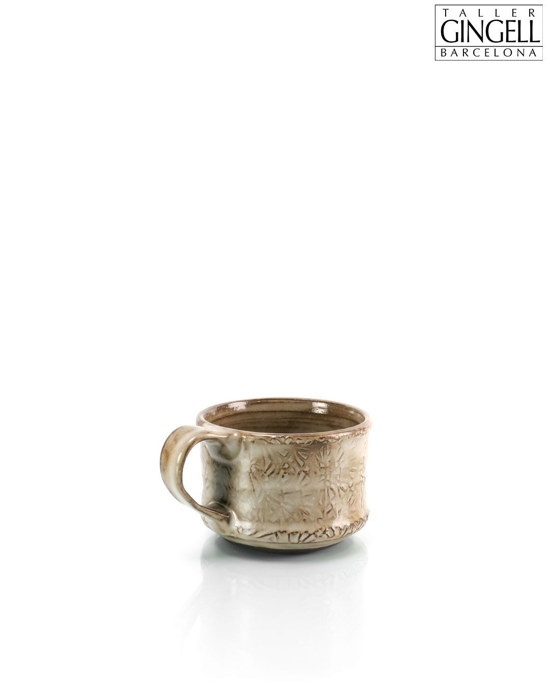 Finally got the computer to behave. Take a peek at the photos and let us know what you think.   Medium black clay mug, 8 cm (2 1/2