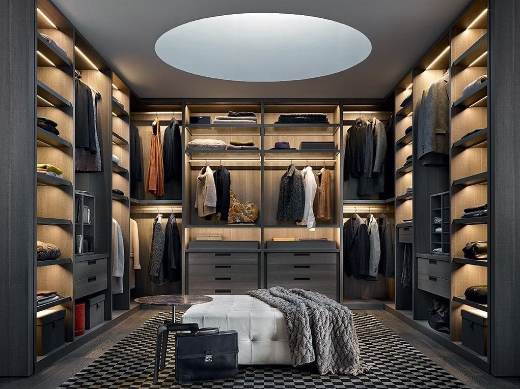Good Dressing Room Design Ideas Part - 1: Poliform Senzafine Closet Design. U201c