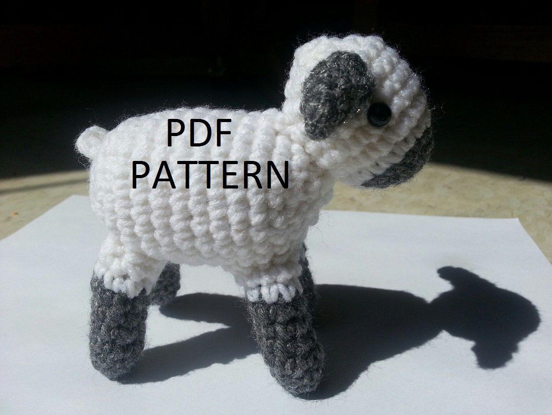 Amigurumi Lamb Pattern for crochet by Jazenami on Etsy https://www.etsy.com/listing/159769775/amigurumi-lamb-pattern-for-crochet