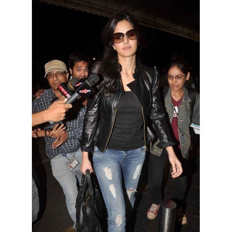 Katrina Kaif Leather Jacket For Sale Leather Jackets For Sale Leather Jacket Stylish Jackets