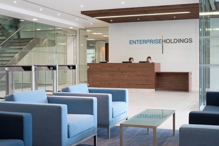 Enterprise Rent A Car S Emea Headquarters Office Snapshots Enterprise Rent A Car Office Interiors Office Design Inspiration