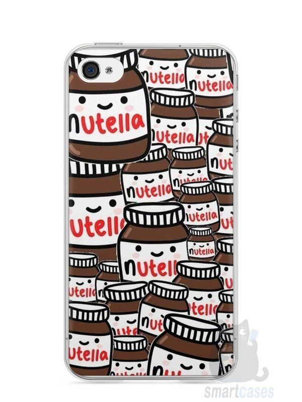 Capa Iphone 4 S Nutella 1 Smartcases Acessórios Para Celulares E Tablets Iphone4cases Iphone Cases Iphone Prints Cool Phone Cases
