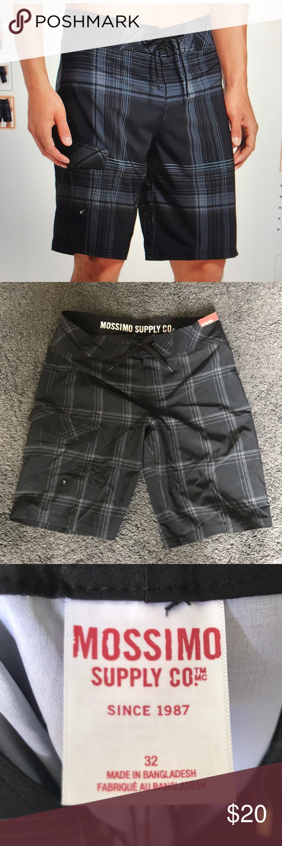 f3deb8d37a Mossimo Supply Co Size 32 Below Knee Men's Swim NWOT Mossimo Supply Men's Swim  Trunks Size 32 Waist Below Knee Perfect condition Mossimo Supply Co.