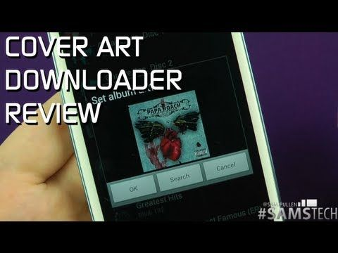 Cover Art Downloader Review #Android App | My Video Reviews