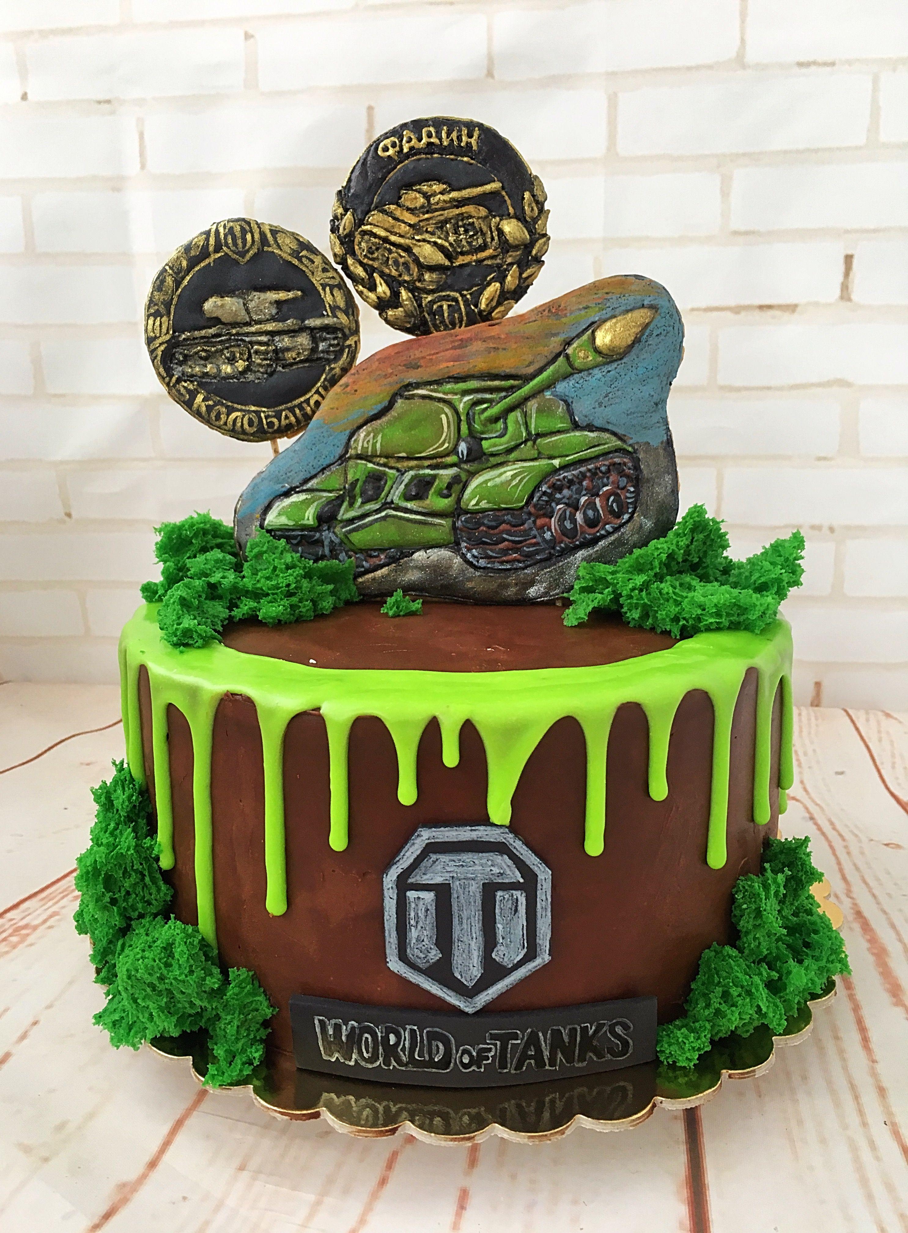 Image result for birthday cake world of tanks