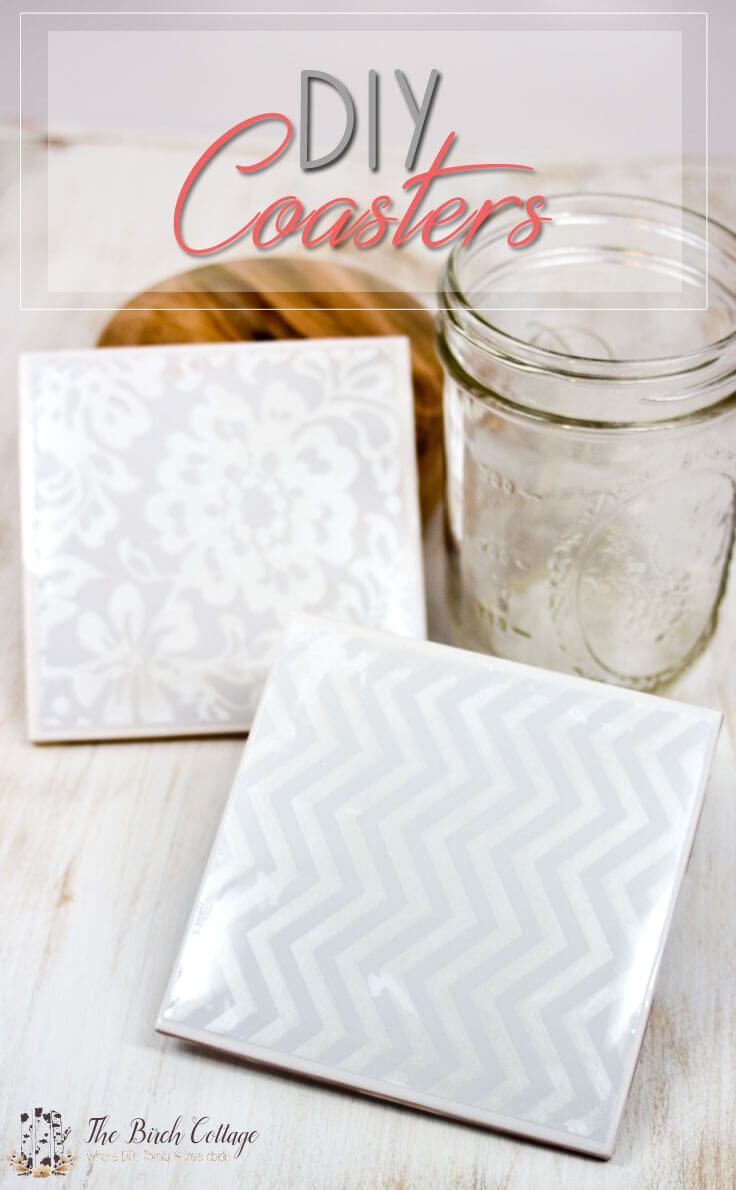 How to make coasters from ceramic tiles coasters and birch