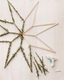 evergreen star DIY