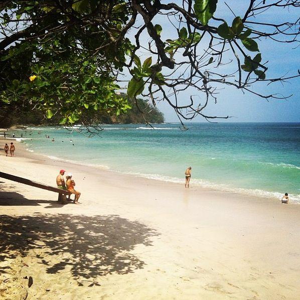 Playa Blanca Punta Leona Costa Rica Beach Free Time Travel