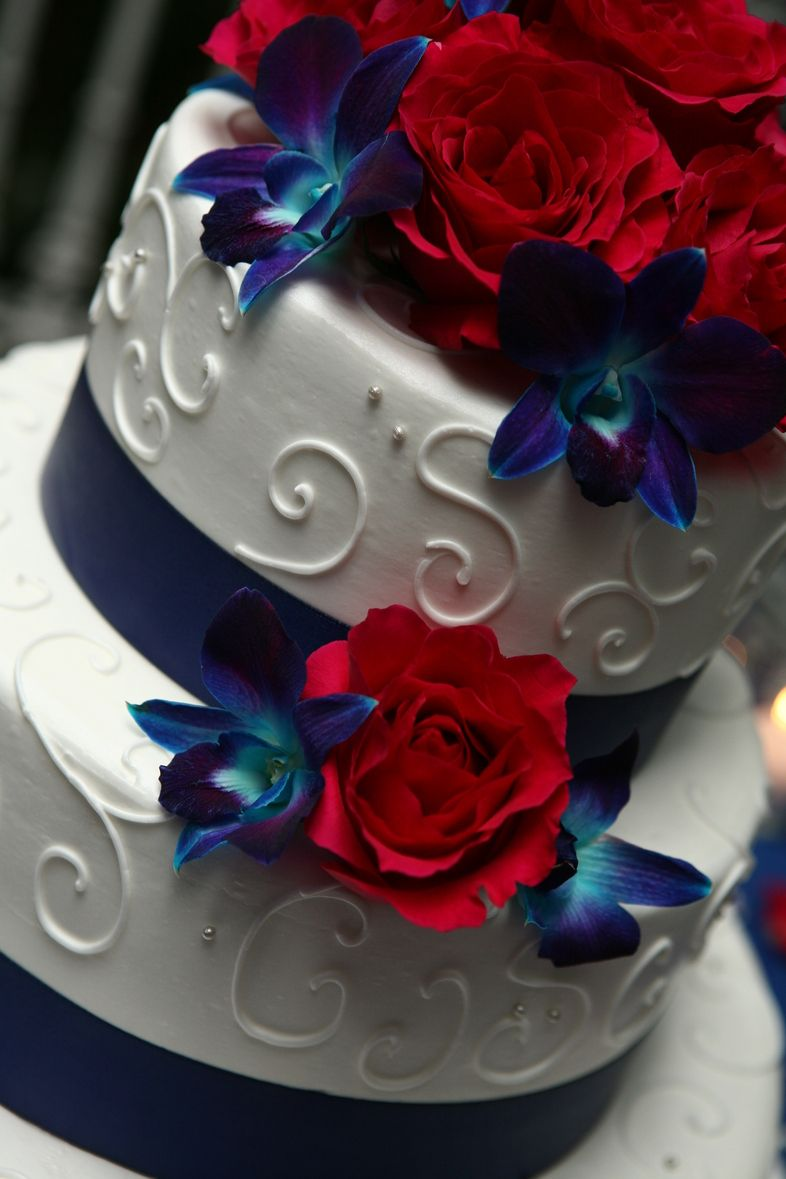 Wedding Cakes Wedding Cake Red Wedding Cakes Blue Navy Blue