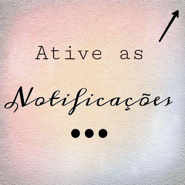 Olá amigos! O instagram mudou o feed e não queremos que vocês percam as novidades da @bellamia_atelie. Para isso, é só clicar nos (...) e ativar as notificações. Assim, vocês continuam seguindo nossas publicações.   VIsitem nossa loja virtual!  www.elo7.com.br/bellamiaatelie  ☆[Link na bio]☆  #notificações #instagram #redessociais #sigaagente #publicações #turnmeon #turnonpostnotifications #notifications #followus #feed