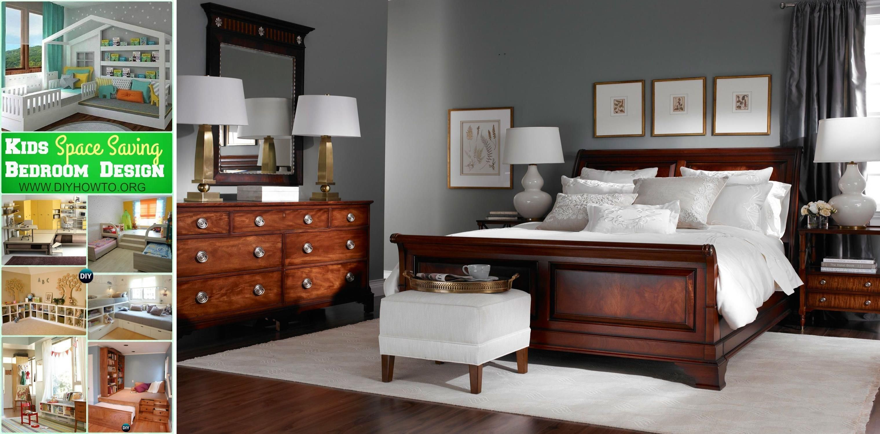 Victorian Bedroom Furniture Full Bed And Dresser Set Dresser