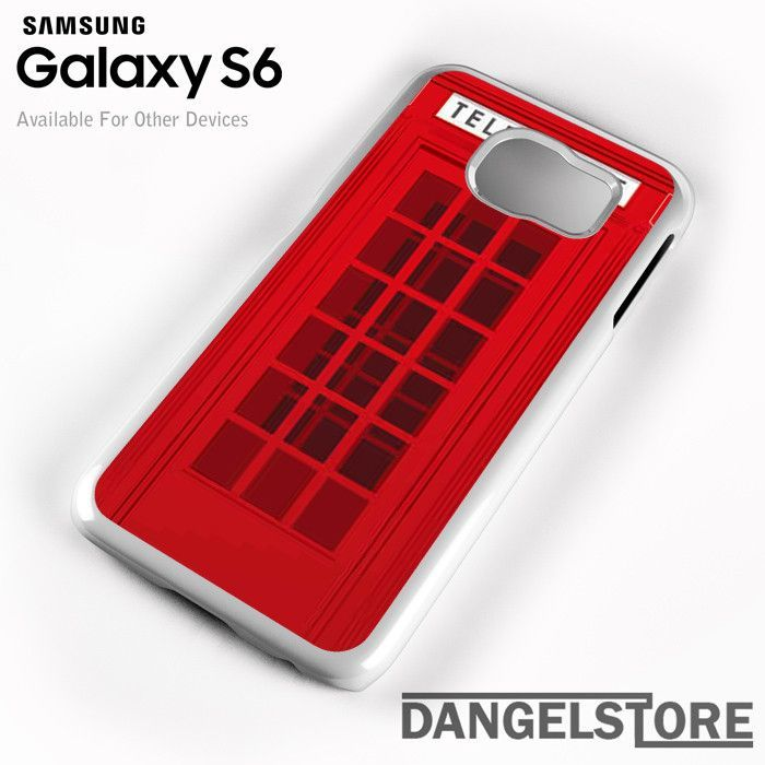 public telephone For Samsung S6 Case