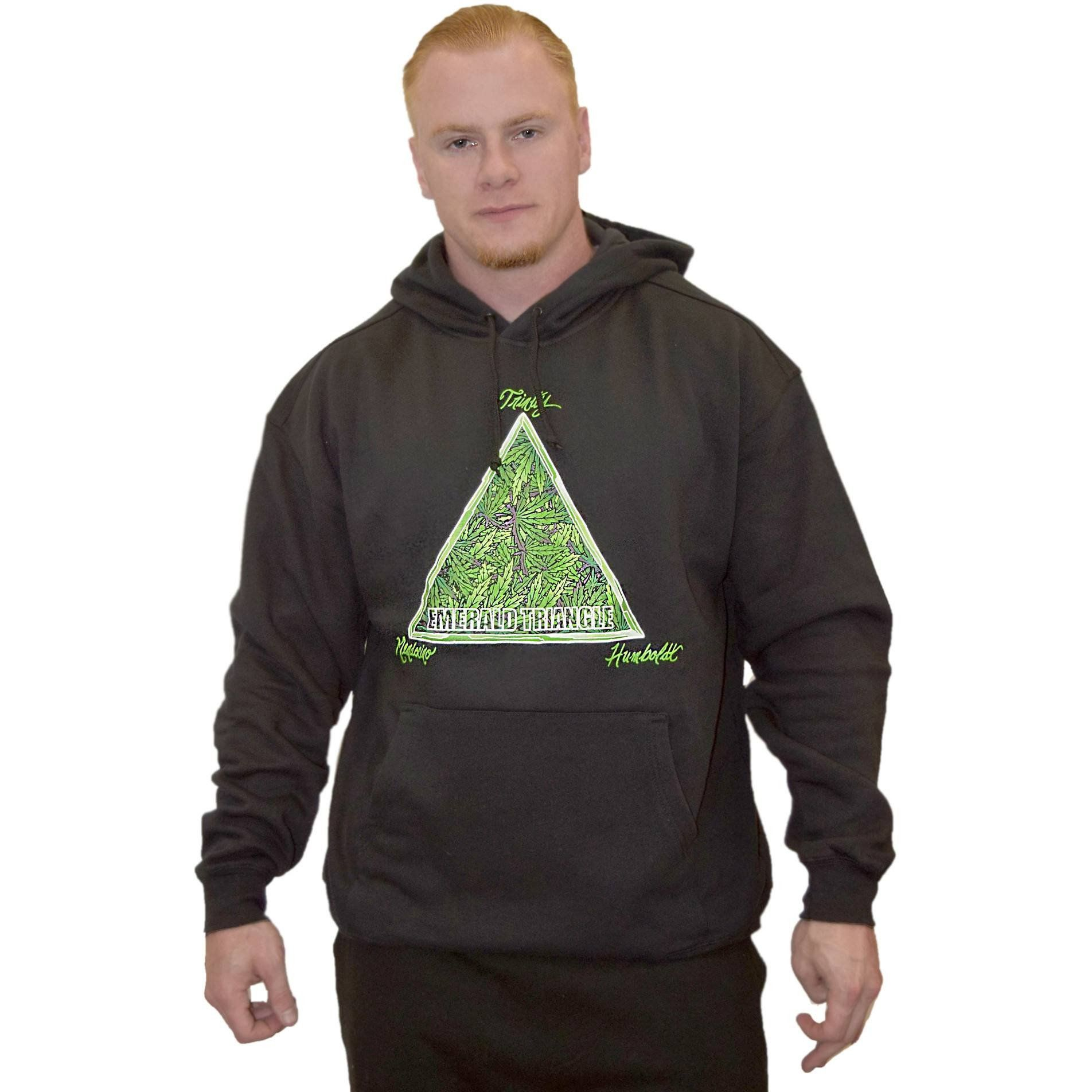 Emerald Triangle Pullover Hoodie Hoodies California Outfits