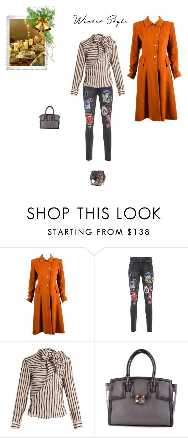"""""""Unbenannt #7119"""" by pretty-girl-in-fashion ❤ liked on Polyvore featuring Hermès, True Religion, Isabel Marant, LIU•JO and Kennel + Schmenger"""