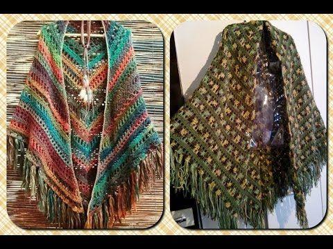 1cf3494c3d6e Poncho de Crochê . 2 formas de usar .Tutorial Por Vanessa Marcondes. parte  1/2 - YouTube
