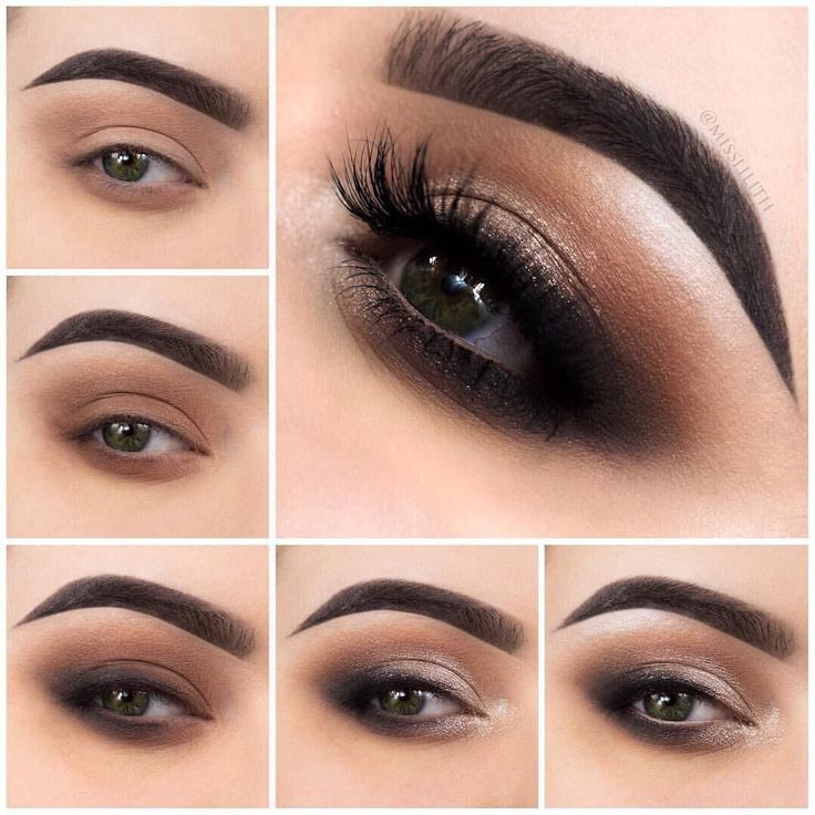 Easy eye makeup step by step #stepbystepeyemakeup #MakeupTutorialStepByStep #eye…
