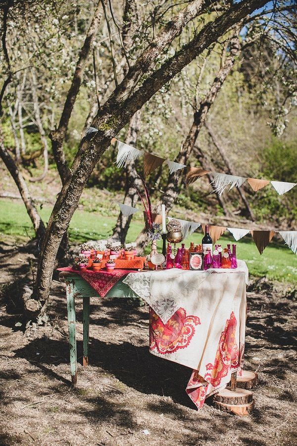 DIY Vintage Boho Chic Wedding Ideas From Simply By Tamara Nicole Photographed Jaqueline Shumate Photography
