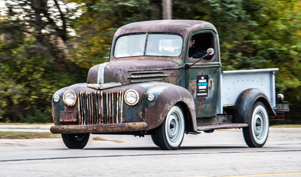 Hagerty Crew Resurrects Old Ford Pickup Truck From Spare Parts
