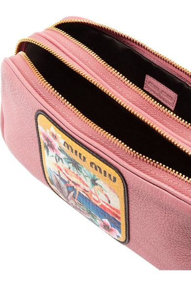 super functional 2 zip compartments Leather Camera Bag, Dust Bag, Mini  Bags, Miu a131b121fe