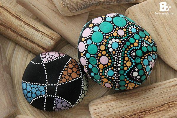 mandala steine anleitung von steine mandala bemalen pinterest. Black Bedroom Furniture Sets. Home Design Ideas