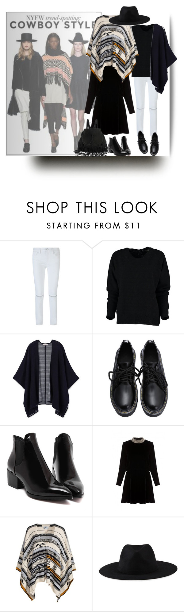 """""""Cowboy style"""" by barbara-gennari ❤ liked on Polyvore featuring Rebecca Minkoff, Tory Burch, Yves Saint Laurent and Element"""