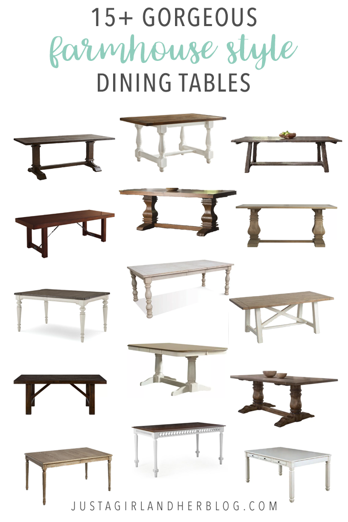 These Gorgeous Farmhouse Style Dining Tables Would Be A Beautiful Addition To Any E