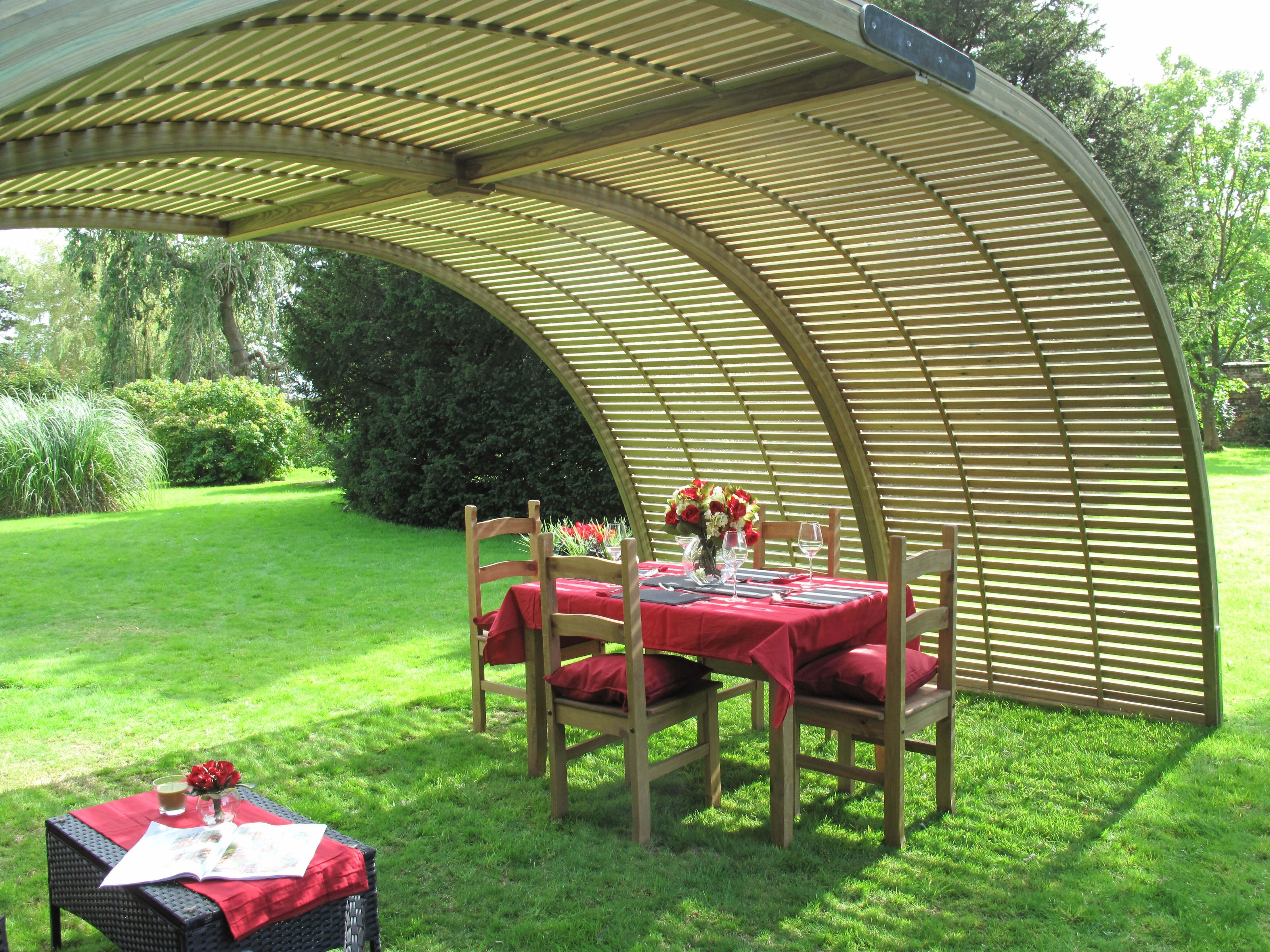 A Jacksons Fencing Garden Structure #shelter