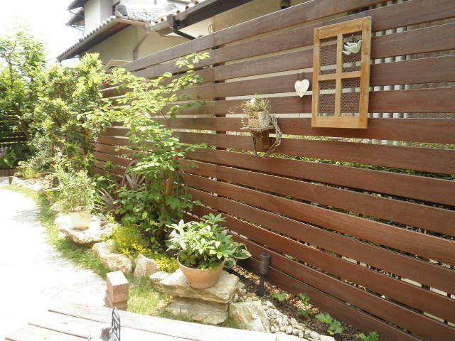 Diyで庭にウッドフェンスは作れる リフォーム業者に頼む 費用の比較
