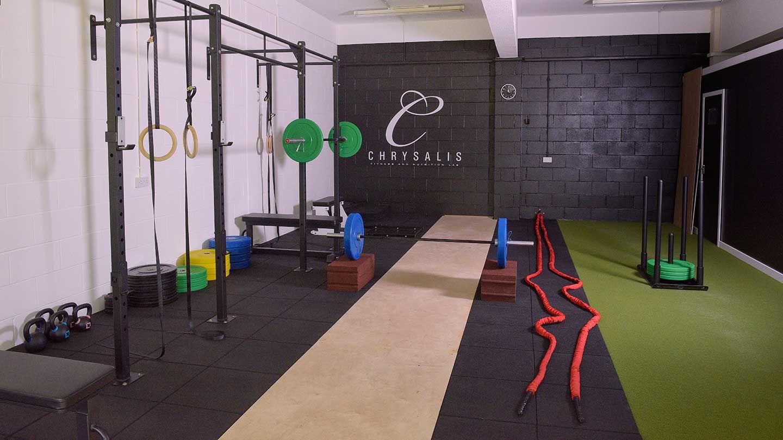 Chrysalis Fitness Lab Corby Decoracao De Academia Salas De Treinamento Projeto De Academia Em Casa