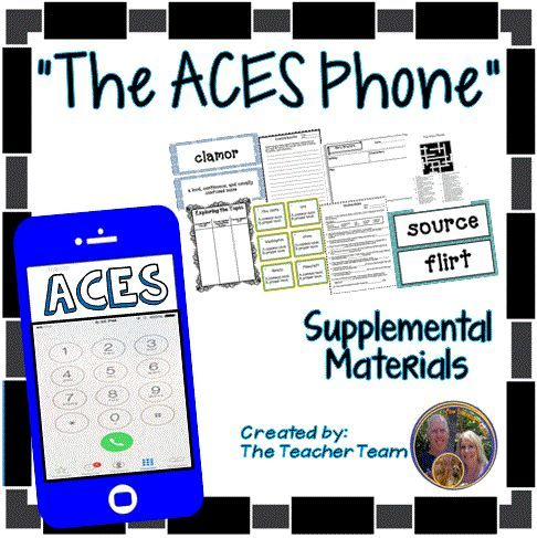 The ACES Phone Journeys 6th Grade Unit 1 Lesson 4 Activities and ...