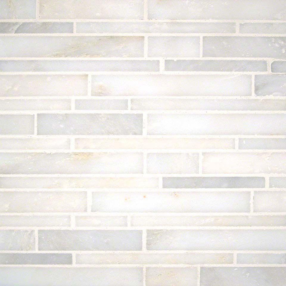 Grecian White Interlocking Pattern Polished - Mosaics   Kitchen and ...