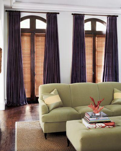 best 25 large window treatments ideas on pinterest. Black Bedroom Furniture Sets. Home Design Ideas