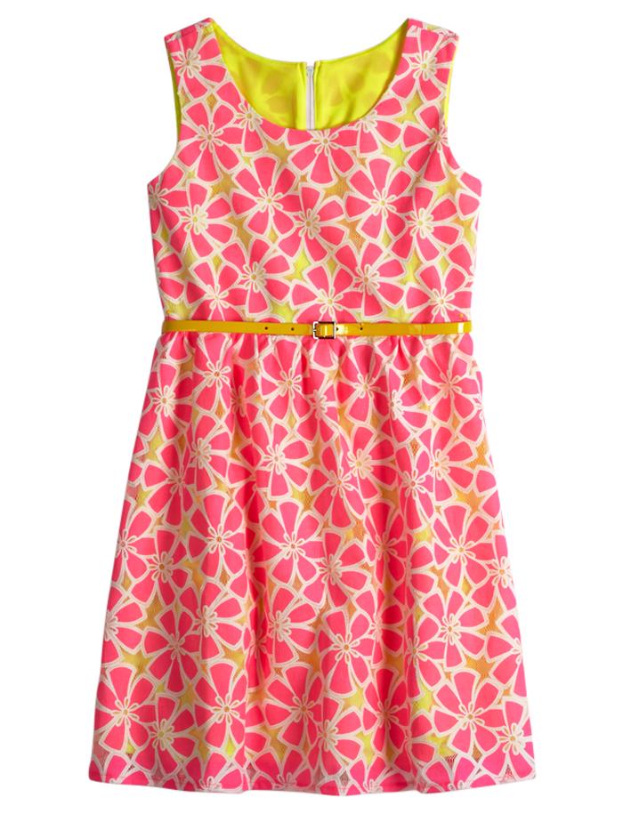 Floral Belted Dress | Everyday | Dresses | Shop Justice ...