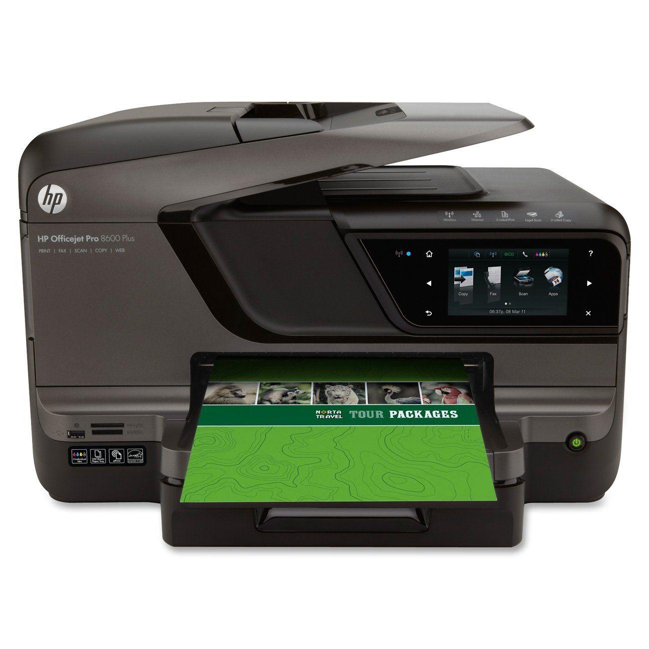 Color printer wireless - Hp Officejet Pro 8600 Plus E All In One Wireless Color Printer With