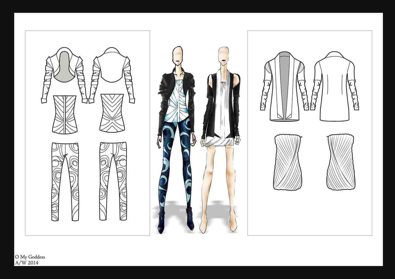 Ifa Paris Bachelor Fashion Design Technology 2013 Graduate Rajiv S Work The Collection Has Been Sh Bachelor Fashion Textiles Fashion Fashion Design Drawings