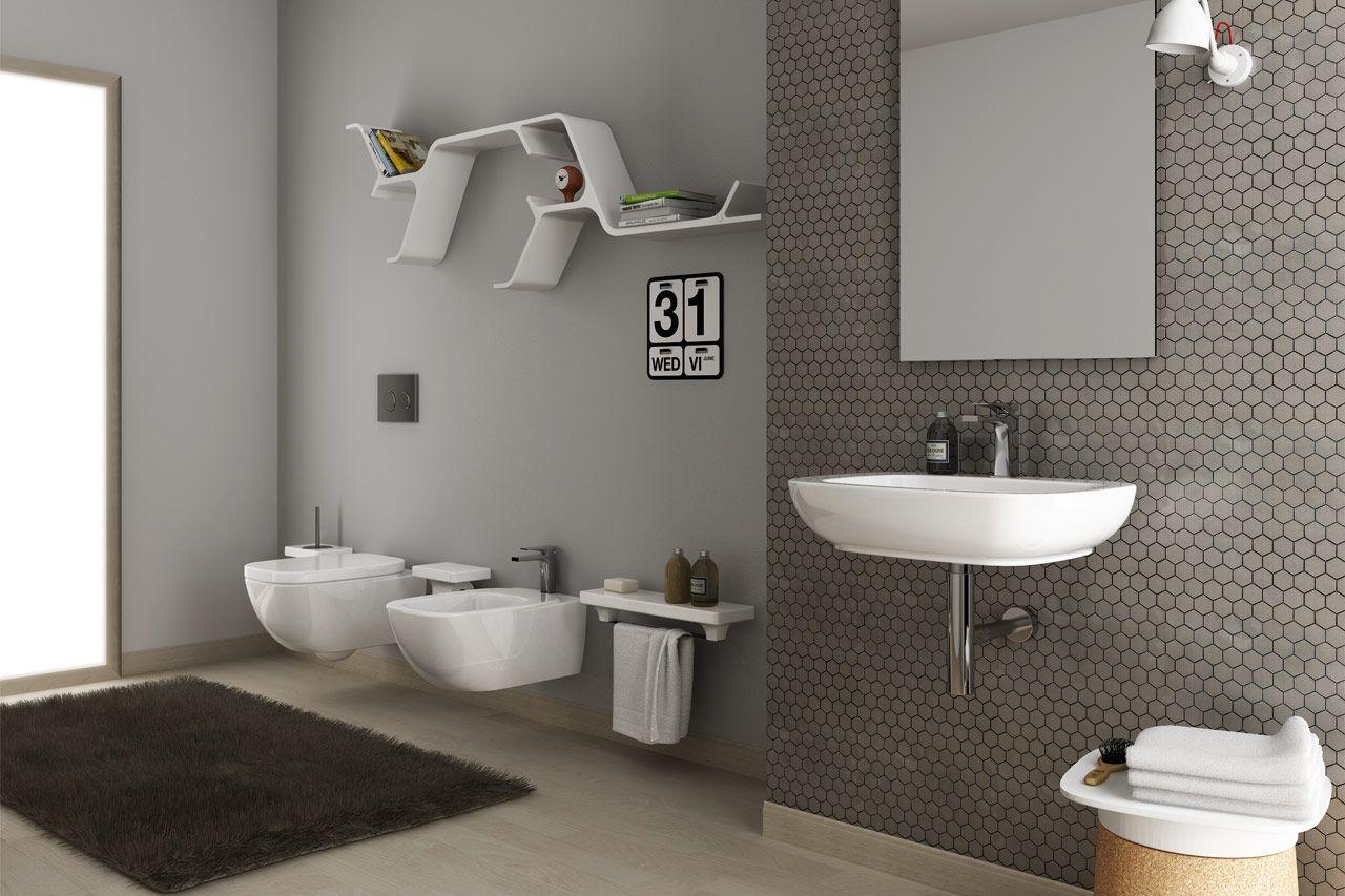 Arredo bagno, produzione lavabi ed articoli sanitari HIDRA Ceramica ...